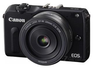 佳能EOS M2套机(EF-M 18-55mm,EF-M 22mm,90EX闪光灯)