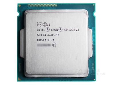 Intel 至强 E3 1230 v3 配什么显卡比较好?