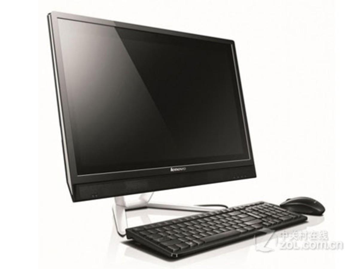 【高清图】联想(lenovo)C560(G3220T/4GB/500GB)整体外观图 图10-ZOL中关村在线