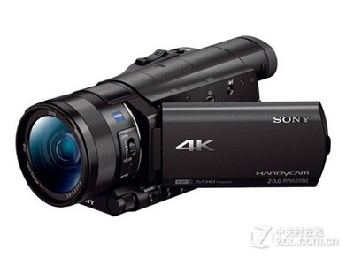 【限时抢购】新款索尼 FDR-AX100E4K时代,索尼一如既往的经典,全新1英吋*Exmor R coms,给你不一样的拍摄体验!