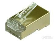 大唐保镖 六类镀金水晶头DT2802-6DP