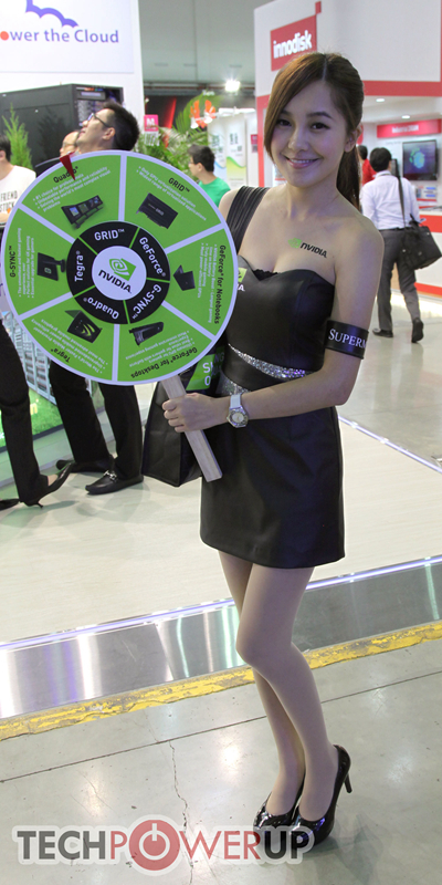 台北电脑展又一大波妹子来袭 130张ShowGirl美图一网打尽的照片 - 97