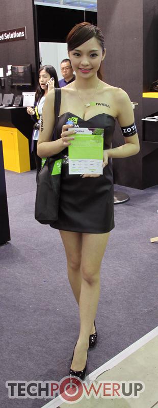 台北电脑展又一大波妹子来袭 130张ShowGirl美图一网打尽的照片 - 103