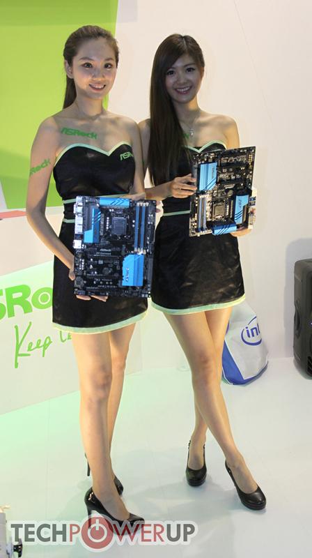 台北电脑展又一大波妹子来袭 130张ShowGirl美图一网打尽的照片 - 119