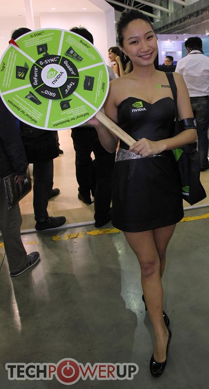 台北电脑展又一大波妹子来袭 130张ShowGirl美图一网打尽的照片 - 124