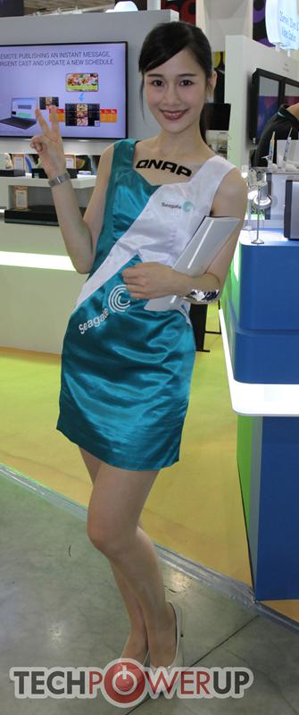 台北电脑展又一大波妹子来袭 130张ShowGirl美图一网打尽的照片 - 19