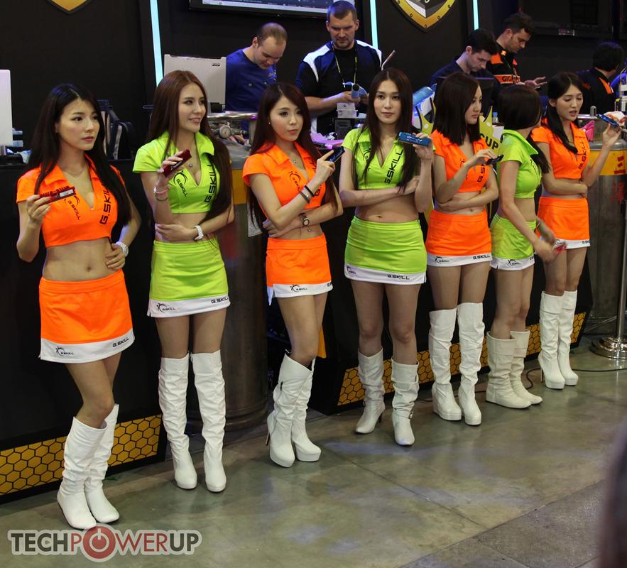 台北电脑展又一大波妹子来袭 130张ShowGirl美图一网打尽的照片 - 4