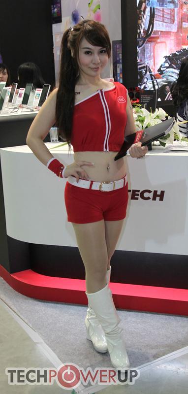 台北电脑展又一大波妹子来袭 130张ShowGirl美图一网打尽的照片 - 9