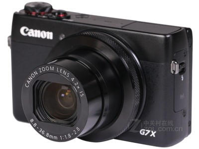 先验货,后付款,顺丰包邮!佳能 G7X,2020万有效像素,1英吋大型高感光CMOS,24mm广角,F1.8-F2.8大光圈,现送礼包零利促销中。
