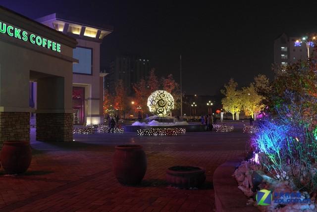 梦幻多彩时尚范 蓝色港湾靓丽夜景赏析