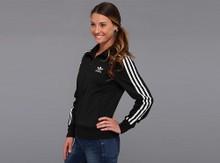 Adidas阿迪达斯经典火鸟系列女士运动外套夹克