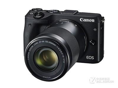 佳能(Canon)EOS M3(18-55mm f/3.5-5.6 IS STM、55-200mm f/4.5-6.3 IS STM)微型单电双头套机