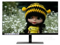 AOC LV243XIP 23.8英寸DP HDMI接口 不闪屏显示器台式电脑显示屏