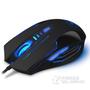 豹勒S3(Boblen) 电脑有线专业游戏鼠标 LOL/CF笔记本电竞光电鼠标无声网吧鼠标 6D终极版 磨砂黑-有声