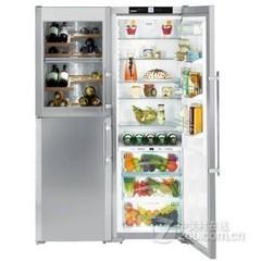 利勃海尔SBSes 7165 德国原装进口独立式生物保鲜冰箱+酒柜
