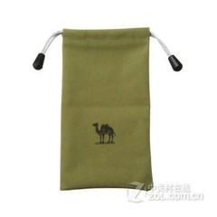 骆驼(CAMEL)手机绒布袋移动硬盘布袋高极保护袋 充电宝/移动电源保护袋