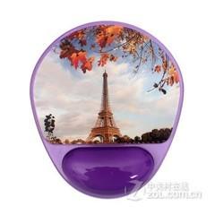 梦天中高档鼠标垫 送礼佳品 紫色铁塔