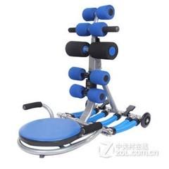 盛步减肥器材美腰机 瘦腰收腹机 仰卧起坐运动机健腹美腿机 家用健身器 瘦身 消除小肚腩 蓝色