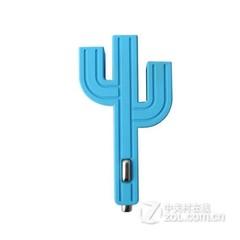 CRAB Cactus mini小仙人掌车载充电器 蓝色