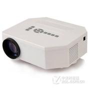 优丽可(UNIC)UC30 家用投影仪LED高清微型投影机 便携式微投短焦 白色+幕布 送VGA 迷你三脚架 高清线 套餐