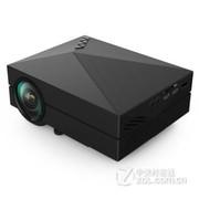 业王 GM60手机投影仪 投影机 家用高清微型投影仪 迷你 便携 电脑 笔记本 黑色 送VGA  高清线 套餐一
