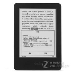 Kindle 6英寸护眼非反光电子墨水触控显示屏 黑色