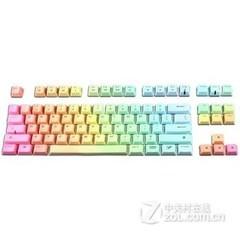 竞帝机械键盘彩虹键帽 87键