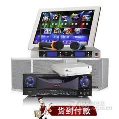 骑士家庭KTV音响设备 19寸屏+1T+歌手麦+400