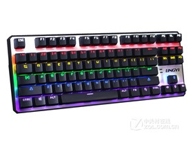 灵逸黑寡妇背光机械游戏键盘