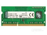 金士顿 4GB DDR3 1600(KVR16S11S8/4BK)