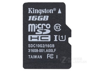 金士顿micro SDHC卡 Class10 UHS-I(16GB)