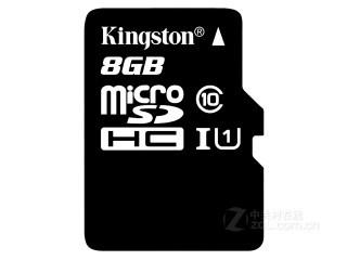 金士顿micro SDHC卡 Class10 UHS-I(8GB)