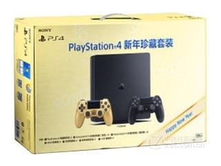 索尼PS4 Slim新年珍藏套装金色版(CUHS-P-2005/500GB)