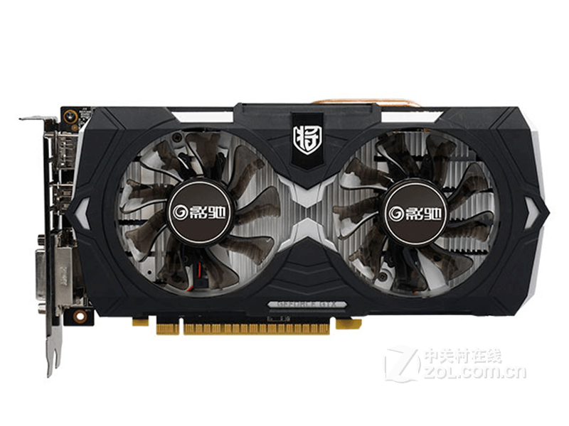 影驰GeForce GTX 1050Ti骨灰大将
