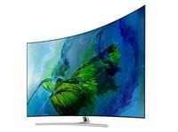 三星(samsung)QA75Q8CAM电视(75英寸 曲面) 苏宁易购43999元(赠品)