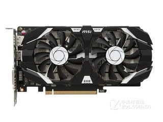 微星GeForce GTX 1050Ti 飙风 4GV1