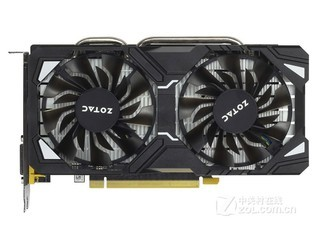 索泰GeForce GTX 1060-3GD5 银河版 HB