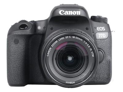 佳能(Canon)EOS 77D 单反套机(EF-S 18-135mm f/3.5-5.6 IS USM)