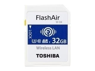 东芝FlashAir SD-UWA系列(W-04)(32GB)