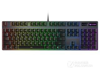雷柏V806幻彩RGB背光游戏机械键盘