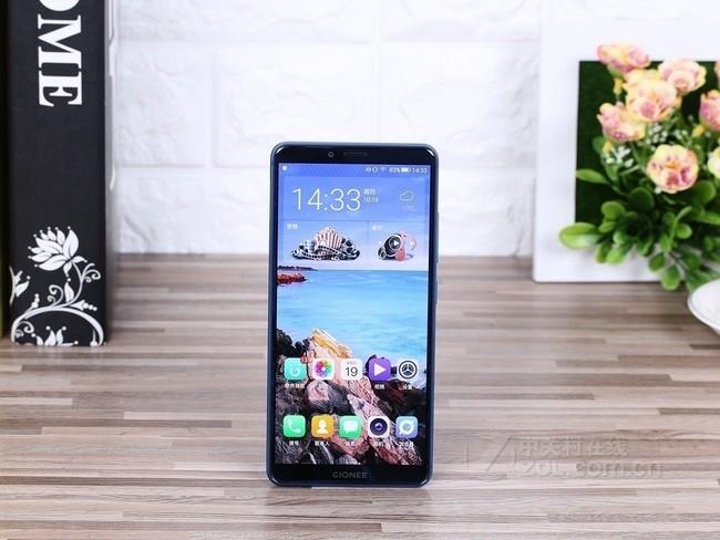 金立 M7 6GB+64GB 移动联通电信4G手机 双卡双待 全面屏 人脸识别 香槟金