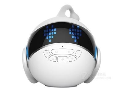 小帅 IR02*小帅机器人儿童教育智能早教语音对话远程遥控wifi互动陪伴音乐故事机 白色