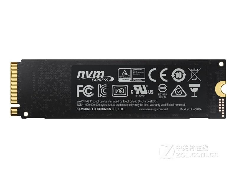 三星970 EVO NVMe M.2(500GB)