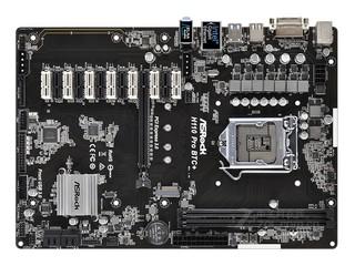 华擎H110 Pro BTC+