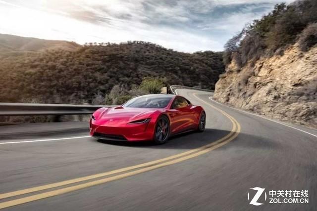 好看至极!特斯拉发布Roadster电动跑车