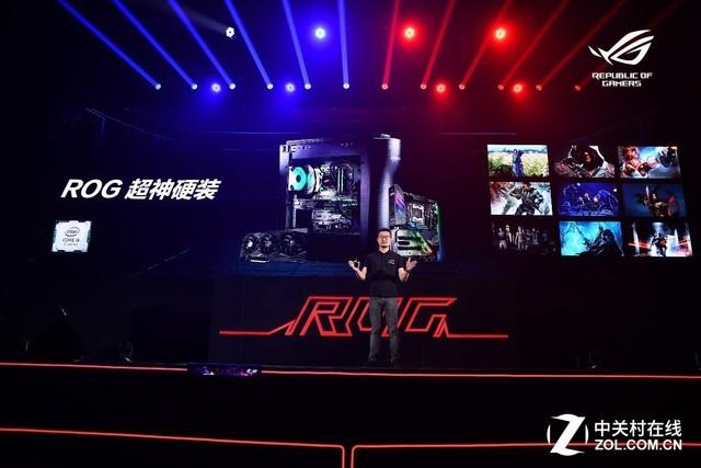 神王镇压 ROG CPU水冷散热器强势吸睛