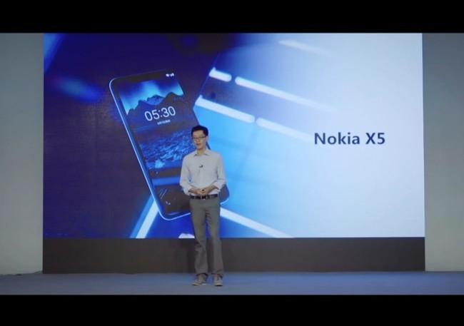 急速发/到手价849起/官方授权/送音响/蓝牙耳机Nokia/诺基亚 X5 新款4G全面屏双摄智能官方旗舰店全新手机x5