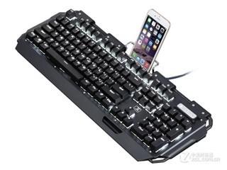 新盟x10曼巴狂蛇复古朋克经典版键盘(黑轴)