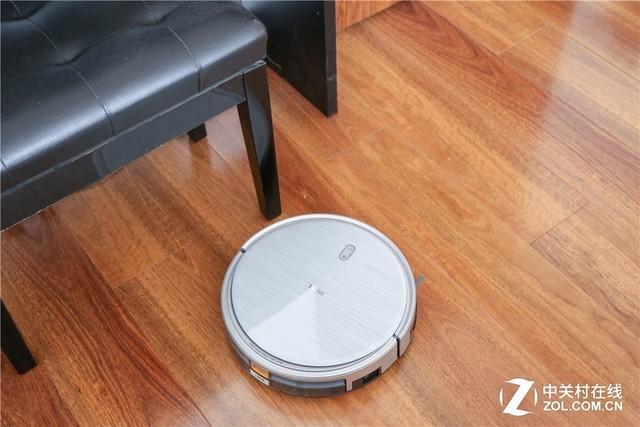 组合清洁更彻底 海尔银芯扫地机器人评测