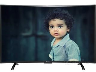 酷视43寸4K曲面网络电视